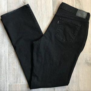 Levi's   505 Straight Leg Black Jeans Size 12